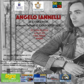 Angelo Iannelli in concerto a Villa Adele – Anzio