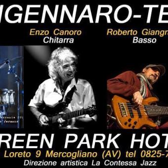Sangennaro-Team dal vivo al Green Park Hotel