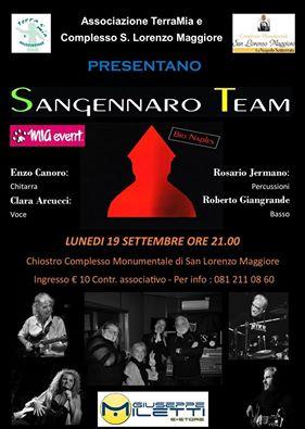 Sangennaro Team in concerto a Napoli