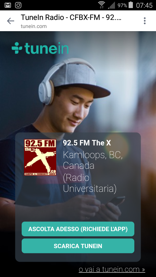 """Album """"E volerò"""" su Radio Canadese"""