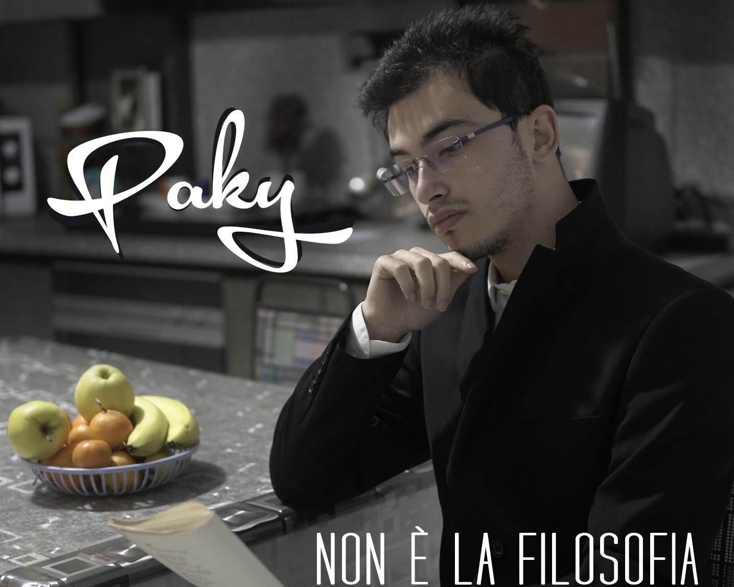 """Paky pubblica il singolo """"Non è la filosofia"""" estratto dal suo album """"Attimi"""""""