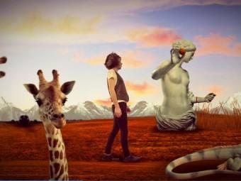Vedere Blu: il primo video tratto dal disco Zoo Plastica de I cortili d'Infanzia