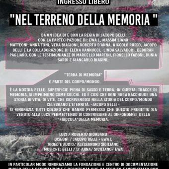 Jacopo Belli. Nel Terreno della Memoria